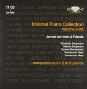 Minimal piano collection : compositions for 2 to 6 pianos. Vol. 10-20