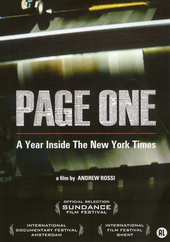 Page one : a year inside The New York Times