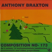 Composition no-173 (a play in one act) : for 4 actors, 14 intrumentalists constructed environment and video project...
