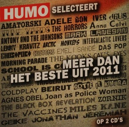 Humo selecteert meer dan het beste uit 2011