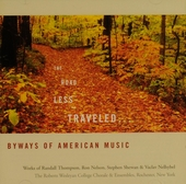 The road less traveled... : Byways of American music