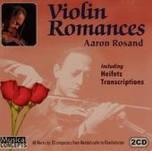 Aaron Rosand plays violin romances & Heifetz transcriptions