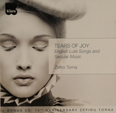Tears of joy : English lute songs and secular music