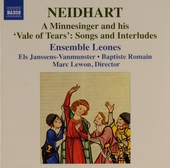 A minnesinger and his 'Vale of tears' : songs and interludes