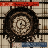 Jacques around the clock : Ibert chamber music for flute