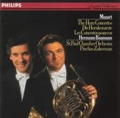 The 4 horn concertos