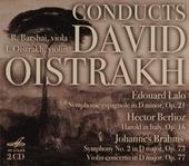 Conducts David Oistrakh