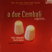 A due cembali : Caprices...