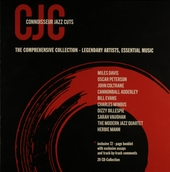CJC connoisseur jazz cuts : the comprehensive collection : legendary artists, essential music