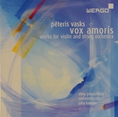 Vox amoris : works for violin and string orchestra