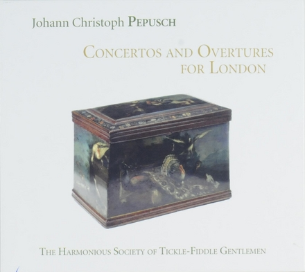 Concertos and overtures for London