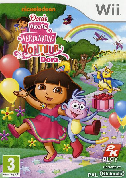 Dora's grote verjaardagavontuur