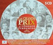 Les grands prix de la chanson française 1930-1960