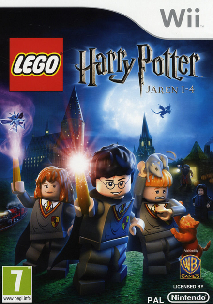 Harry Potter : years 1-4