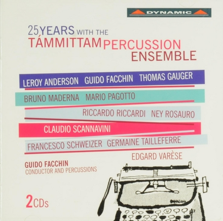 25 years with the Támmittam percussion ensemble