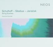 Schulhof-Sibelius-Janacek : string quartets