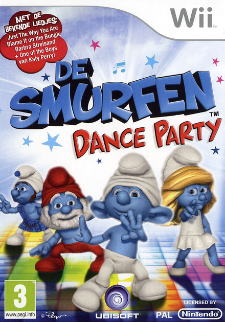 The smurfs : dance party