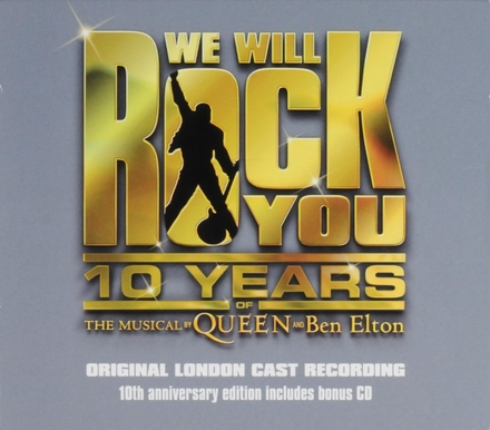 We will rock you : original London cast recording : the music from the rock theatrical : live at the Dominion Londo...
