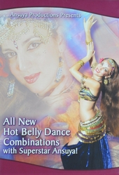 All new hot belly dance combinations with superstar Ansuya!
