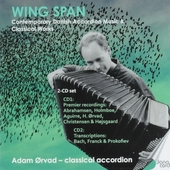 Wing span : Contemporary Danish accordion music & classical works