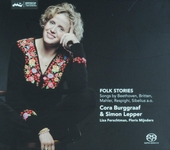 Folk stories : Songs by Beethoven, Britten, Mahler, Respighi, Sibelius a.o.
