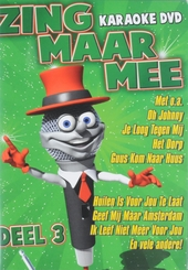 Zing maar mee : Karaoke dvd. vol.3