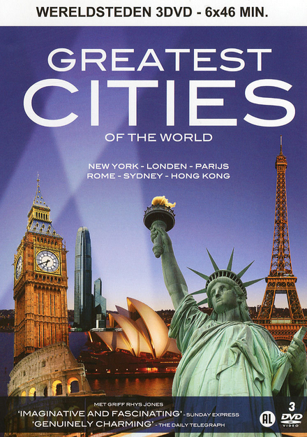 Greatest cities of the world : New York, Londen, Parijs, Rome, Sydney, Hong Kong