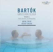 Complete works for violin. Vol. 3