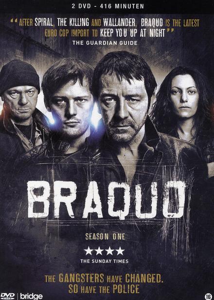 Braquo. The complete season one