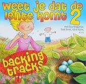 Weet je dat de lente komt : Backingtracks. vol.2