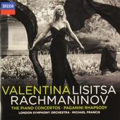 The piano concertos ; Paganini rhapsody