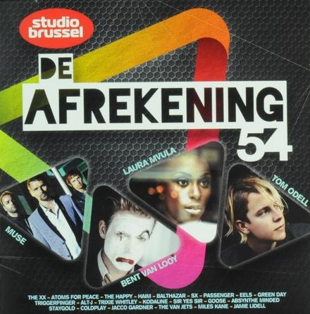 De afrekening van Studio Brussel. 54