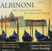 The collected concertos for oboes and strings