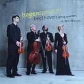 String quartets op. 18/3, 18/5 & 135
