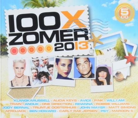 100 x zomer 2013