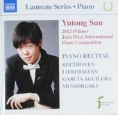 Yutong Sun : 2012 winner Jaén International Piano Competition