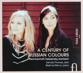 A century of Russian colours : Rachmaninoff, Kabalevsky, Auerbach
