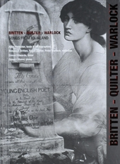 Britten, Quilter, Warlock : Songs from an island