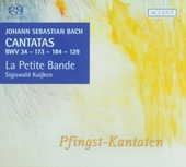 Cantatas for the complete liturgical year. Vol. 16, Pfingst-Kantaten