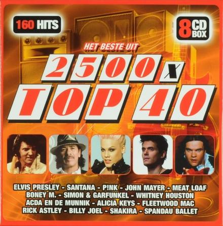 Het beste uit 2500 x Top 40