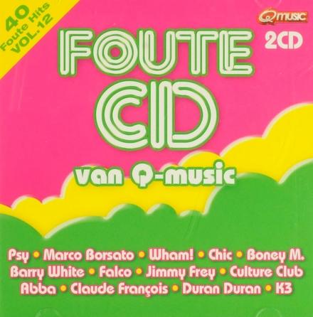 Foute cd van Q-music. Vol. 12