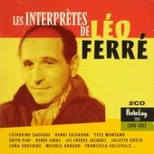 Les interprètes de Léo Ferré 1948-1963