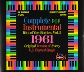 Complete pop instrumental hits of the sixties : original version of every U.S. charted single. Vol. 2, 1961