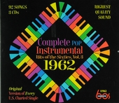 Complete pop instrumental hits of the sixties : original version of every U.S. charted single. Vol. 3, 1962