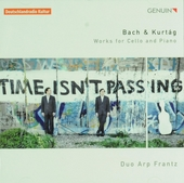 Bach & Kurtág : Works for cello and piano