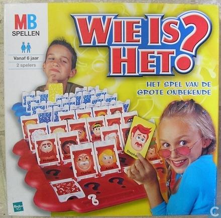Wie is het? : het originele gezichten raadspel