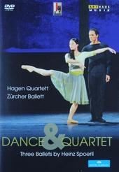Dance & quartet : Three ballets by Heinz Spoerli