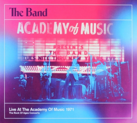 Live at the Academy of Music 1971 : the rock of ages concerts