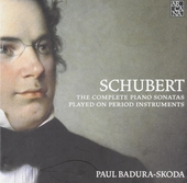 The complete piano sonatas played on period instruments