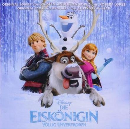 Die Eiskönigin : deutscher original Film-Soundtrack